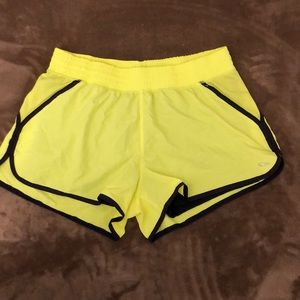 Women's Champions sport shorts 2 on 1